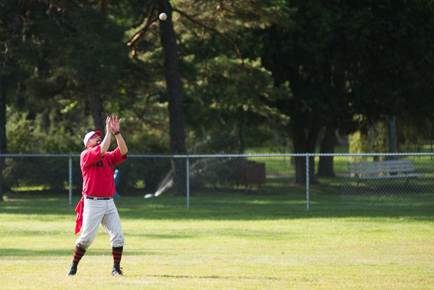Kid catching flyball